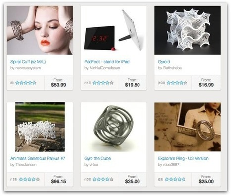 Shapeways 3D Printing – Transform Your Ideas into Reality | apps + augmented reality | Scoop.it