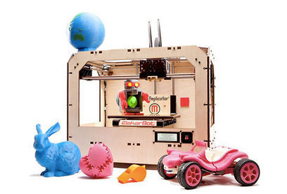Makerbot Introduces Larger, Two-Color 3-D Printer | New Civilizations | Scoop.it