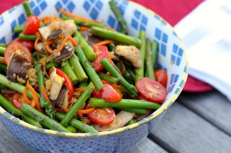 Karen's Kitchen Stories: Wok-Seared Vegetables   Wok Wednesdays   Karen's Kitchen Stories   Scoop.it