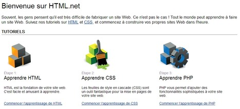 Tutoriels sur HTML et CSS - Construisez votre propre site Web - HTML.net | Time to Learn | Scoop.it