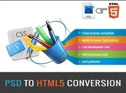 PSD to HTML5 Conversion For A Future Proof Website | Convert PSD Files | Scoop.it