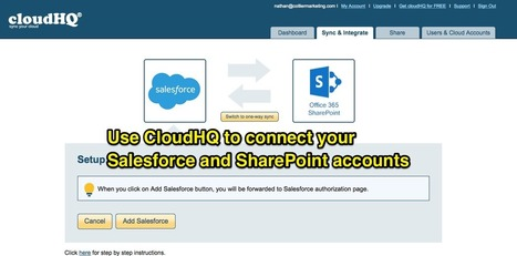 How to Integrate Salesforce and SharePoint (And Give Your Sales Team Easy Access to Your Full Document Library) | cloud computing | Scoop.it
