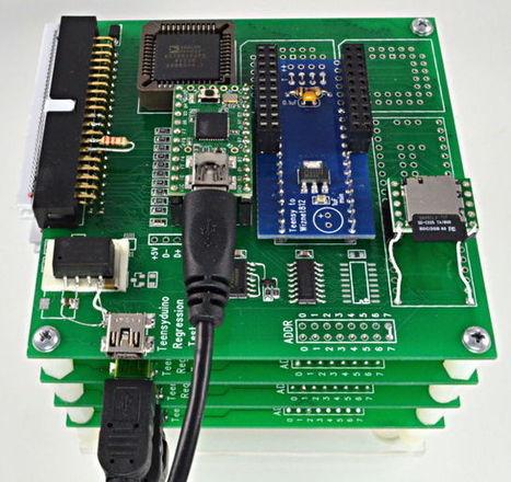 Teensyduino Regression Testomatic, 1st Try... | DorkbotPDX | Arduino, Netduino, Rasperry Pi! | Scoop.it