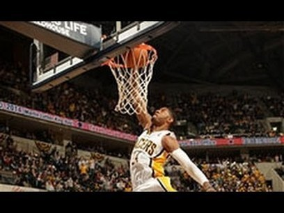 Paul George's 360 Windmill Slam! | Work From Anywhere | Scoop.it