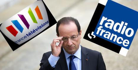 Hollande évoque un rapprochement des sites internet de France Télévisions et Radio France   Digital Transformation   Scoop.it