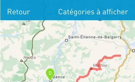 ItiAqui, une application pour découvrir ou redécouvrir l'Aquitaine à pied ou à vélo | Revue de Web par ClC | Scoop.it