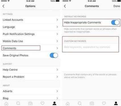 Instagram déploie son outil de modération des commentaires | Applications Iphone, Ipad, Android et avec un zeste de news | Scoop.it