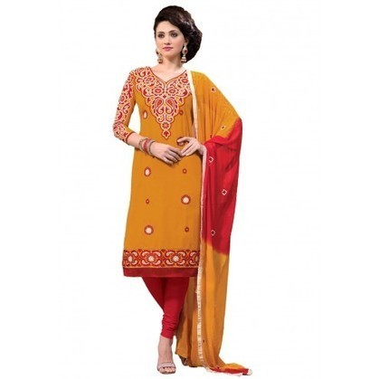 Adorable Orange Cotton Indian Churidar Kameez | Designer Salwar Kameez | Party Wear Salwar Kameez | Bollywood Churidar Salwar Kameez | Scoop.it
