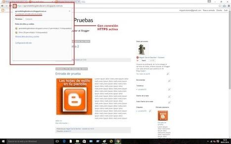 Cómo activar el protoclo https para tu Blog en Blogger ~ Diarios de la nube | Tecnología y conocimiento | Scoop.it