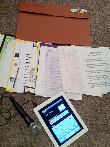 Digitizing an Elementary Writing Portfolio « Moving at the Speed of Creativity | EDUcational Chatter | Scoop.it
