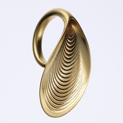 Ross Lovegrove Designs 3D-Printed Gold Jewelry | dt unit | Scoop.it