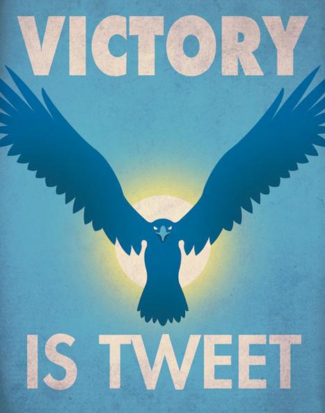 The Curious Brain » Social Media Propaganda Posters | Future Library | Scoop.it