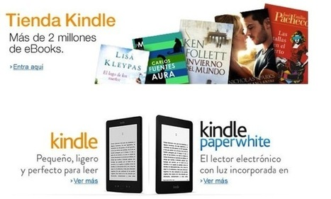 Kindle e-bookstore and self-publishing platform now available in ... | Authorship&Writing | Scoop.it