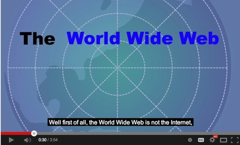 What Is The World Wide Web? Beautiful Short Animated Explanation for Students | vizual | Scoop.it