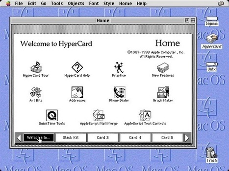 Loper OS » Why Hypercard Had to Die | Revolutionary - Agents | Scoop.it