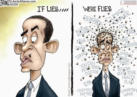 #BB4SP: If Flies Were Lies ➡ Obama Would Be Lord Of The Lies! ➡ @afbranco Cartoon | Sarah Palin | Scoop.it