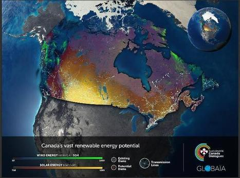 Canada's Green Energy: The Push for a New East-West Grid   Lauri's Environment Scope   Scoop.it
