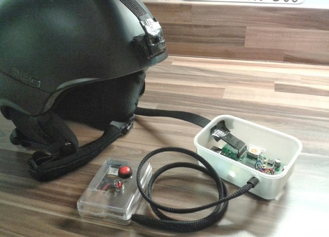 A Raspberry Pi Helmet Cam with GPS Logging | Raspberry Pi | Scoop.it
