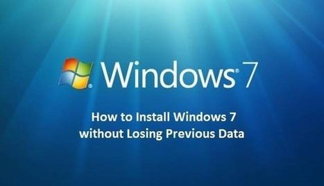 Cómo reinstalar Windows7 sin perder todos tus archivos | ITBM semestre 1 computacion1 | Scoop.it