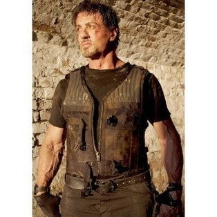 Expendables 3 Barney Ross Leather Vest | Celebrity Movie And Gaming Jackets | Scoop.it