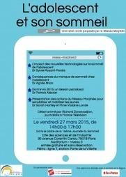 L'adolescent et son sommeil - Vendredi 27 mars 2015 - Réseau Morphée | CaféAnimé | Scoop.it