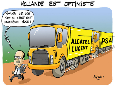 Hollande optimiste | Photos de LYonenFrance | LYFtv - Lyon | Scoop.it