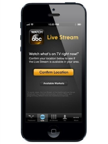 ABC Unveils First App for Television Offerings   Entertainment Industry   Scoop.it