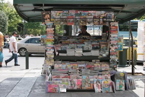 La presse étrangère n'est plus distribuée en Grèce | DocPresseESJ | Scoop.it