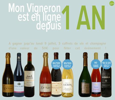 Mon Vigneron fête sa 1ère année ! | Agenda du vin | Scoop.it