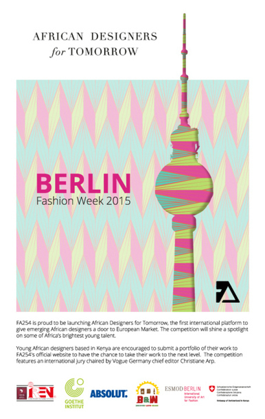 African Designers for tomorrow | Catwalk at Berlin Fashion week 2015 | Made in Africa | Scoop.it