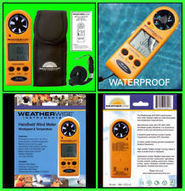 HANDHELD WIRELESS WIND SPEED METER SENSOR ANEMOMETER - MINI HOME WEATHER STATION   Home Weather Station   Scoop.it
