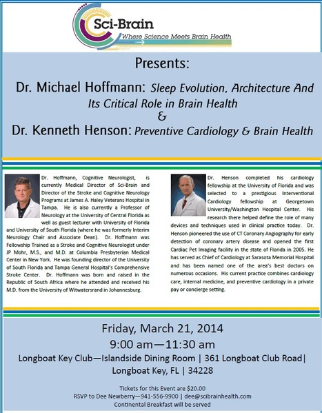 Seminar: Sleep evolution, Architecture and Its Critical Role in Brain Health | Brain Health and Fitness | Scoop.it