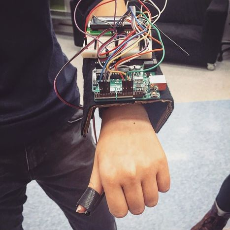 Insta-Arduino | please look at my cyborg arm, iron man ain't sh*t!... | Arduino Focus | Scoop.it