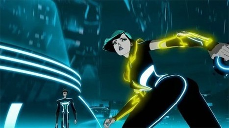 Disney Debuts Stunning New Trailer for 'TRON: Uprising' Animated Series [Video] - ComicsAlliance | Animation News | Scoop.it