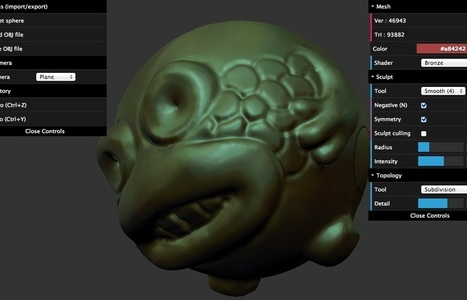 SculptGL   CHATTERBOX   Scoop.it