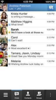BlackBerry Messenger (BBM) App for iPhone and Android Starts Rolling Out | BlackBerry | Scoop.it