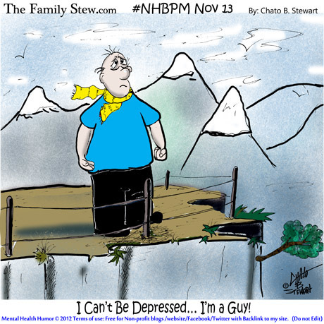 Taboo – MEN get Depression But Men Don't Get Help #NHBPM - PsychCentral.com (blog) | A Humourous Look at Life | Scoop.it