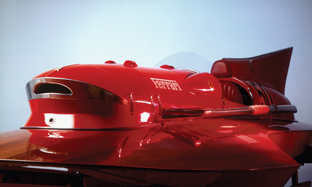 Motosportretro.com | For Auction: 1953 Ferrari Hydroplane 'Arno XI' | Ductalk | Scoop.it