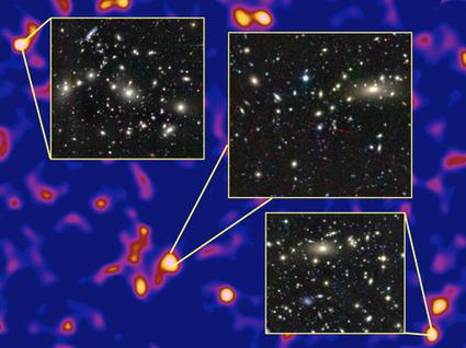 La plus grande carte de la matière noire dévoilée   Beyond the cave wall   Scoop.it