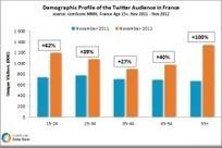 Profil démographique des visiteurs de Twitter en France | François MAGNAN  Formateur Consultant | Scoop.it