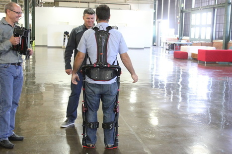 This magic exoskeleton for industrial workers is the future—we know, we wore one | Emerging Technology | Scoop.it
