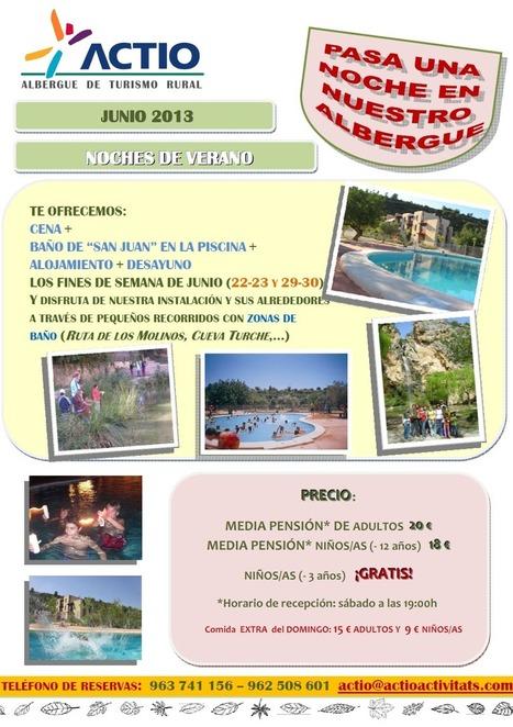 NOCHES DE JUNIO - Actio Activitats | Turismo de Naturaleza, en familia | Scoop.it