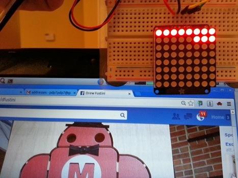 รับค่าตัวแปรจาก Facebook มาแสดงผลบน LED ด้วย BeagleBone Black | Beaglebone | Scoop.it