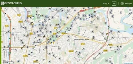 Le géocaching, un jeu pour découvrir Grenoble autrement | Place Gre'net | Wakefulness | Scoop.it