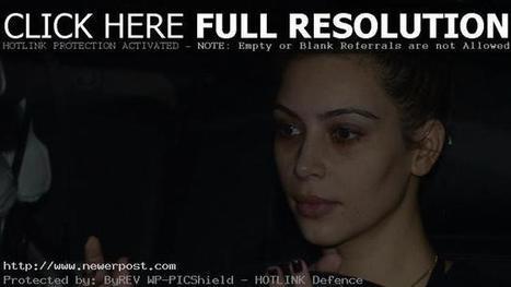 Kim Kardashian: rare makeup-free Selfie | NewerPost | Scoop.it