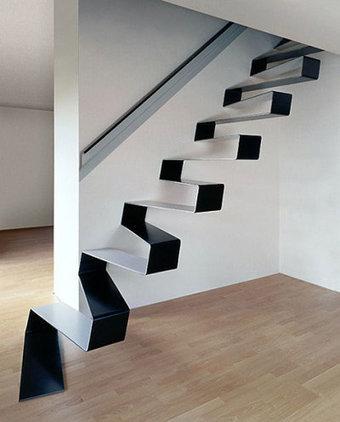 Escalier ruban de métal par HSH | Blog Esprit-Design | CRAW | Scoop.it