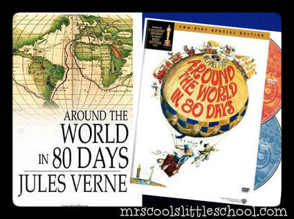 Nat Geo -Around The World in 80 Days - 5th Grade Lesson | Home School | Scoop.it