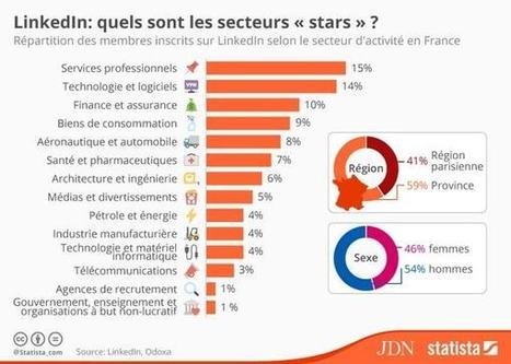 Quels sont les secteurs stars sur LinkedIn ? | Social Media and E-Marketing | Scoop.it