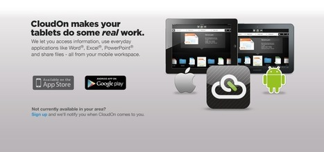 CloudOn | brings you Microsoft Office(R) on mobile devices | Time to Learn | Scoop.it