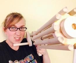 Gatling Rubber Band Machine Gun - Easy Weekend Project | Open Source Hardware News | Scoop.it